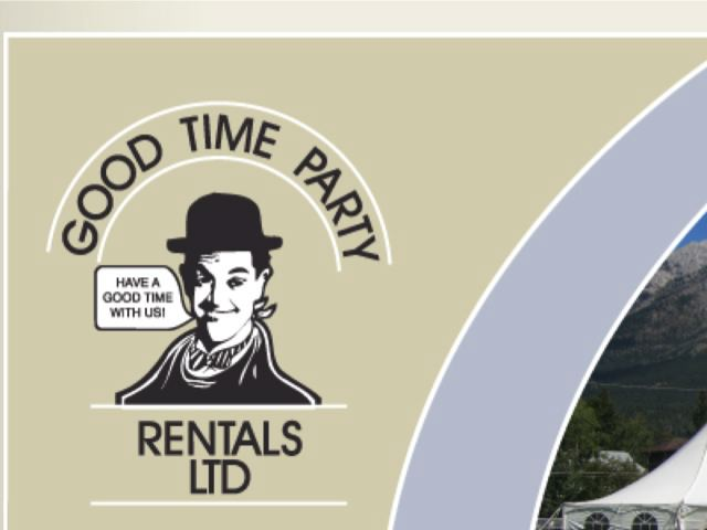 good time party rentals metro calgary wedding rentals